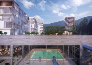 Wizualizacja kompleksu Kozubnik SPA Resort