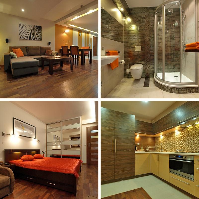 Trzypokojowy apartament o powierzchni 50m2